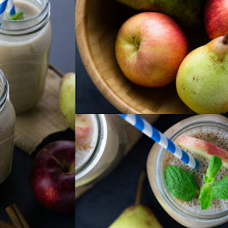 Apple Pear Smoothie.