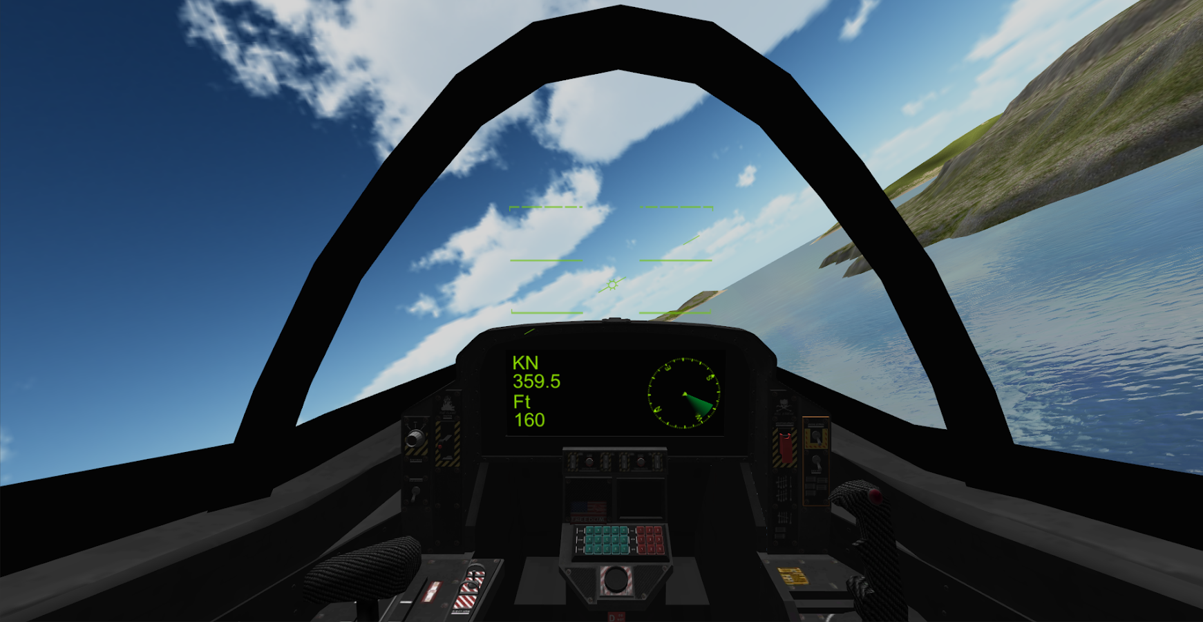 F18 Airplane Simulator 3D- screenshot