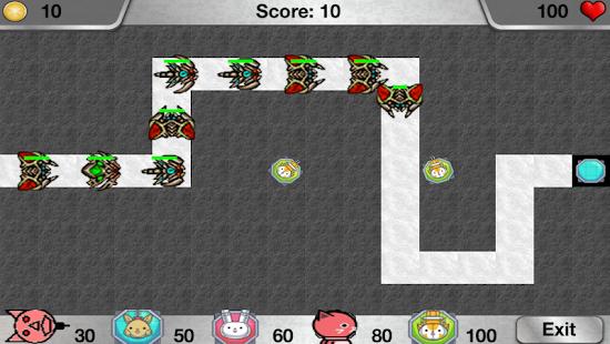 Panfur TD: Tower Defense Game screenshot