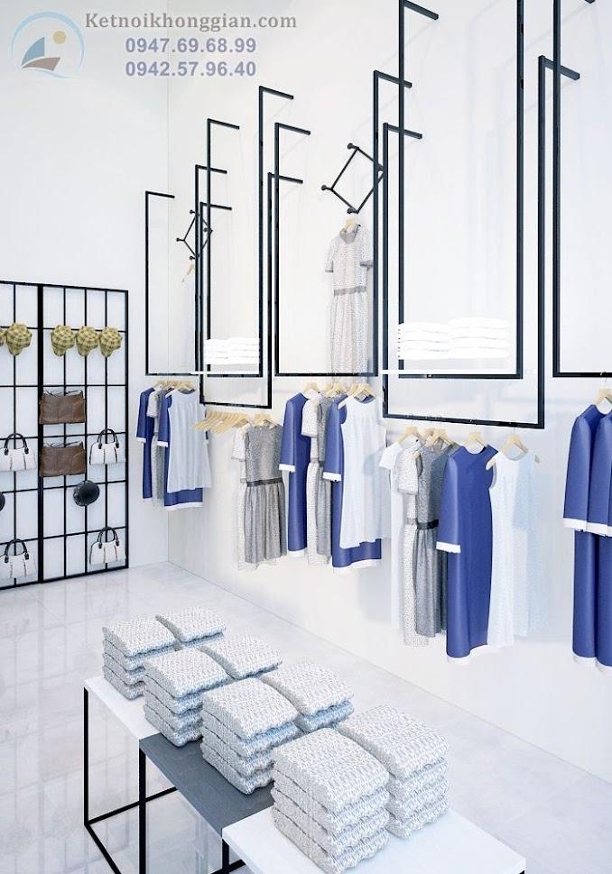 thiết kế cửa hàng thời trang công sở chất lượng cao