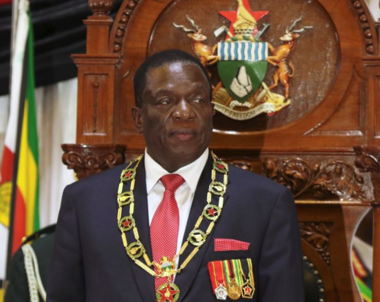 Zimbabwe's Mnangagwa off to five countries as economy hits crisis levels