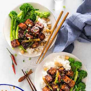 General Tso Tofu (Crispy Tofu without Deep Frying).