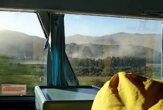 Photo: Took the bus over the Andes to Chile