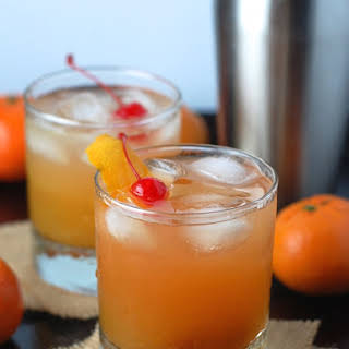 Honey Tangerine Whiskey Sour.