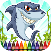 Coloring Book Sharks