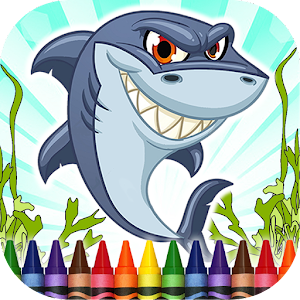 Coloring Book Sharks for PC and MAC