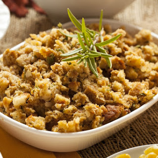 Easy Slow Cooked Homemade Turkey Stuffing