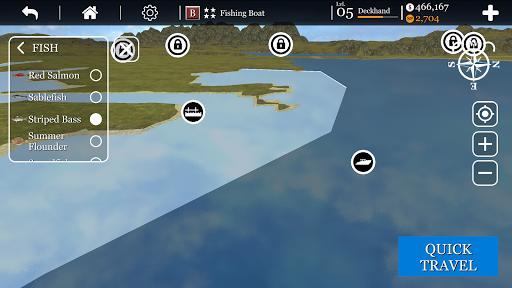 iCrabbing- Fishing Simulator captures d'u00e9cran 2
