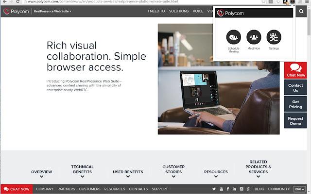 RealPresence WebSuite Easy Meet Extension - Chrome Web Store