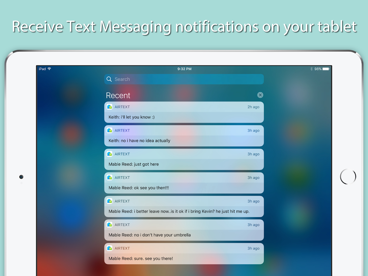SMS Texting on Computer (macOS & PC)- screenshot