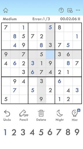 Sudoku 1.0.3 screenshots 1