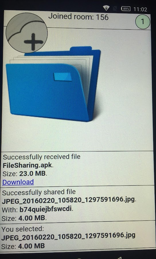 FileSharing- screenshot