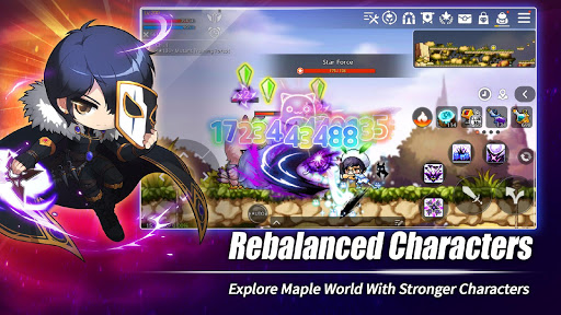 MapleStory M - Open World MMORPG screenshots 9
