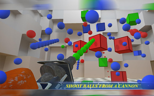 RGBalls u2013 Cannon Fire : Shooting ball game 3D apkpoly screenshots 14