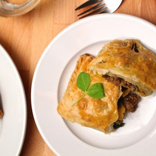Curried Lamb and Butternut Squash Pockets