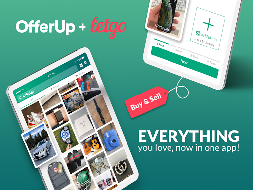 OfferUp: Buy. Sell. Letgo. Mobile marketplace screenshot 5