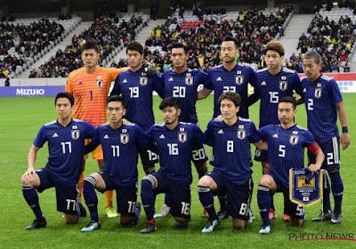 Le Japon dévoile sa liste des 23 : un ancien Belgicain y figure