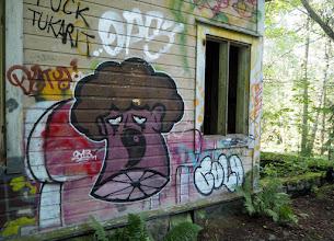 Photo: Kaipa näissä seinissä jo oikeaa sienikasvustoakin on :-)