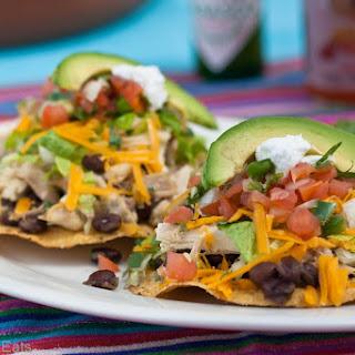 Crock Pot Cilantro-Lime Chicken Tacos.