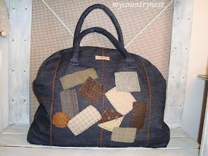 Photo: Denim bag, modello di le idee di Casamia
