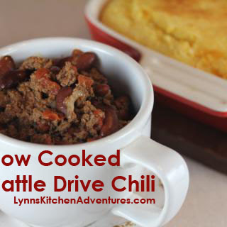 Cattle Drive Chili