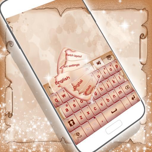 个人化のキュートなヴィンテージキーボード LOGO-記事Game