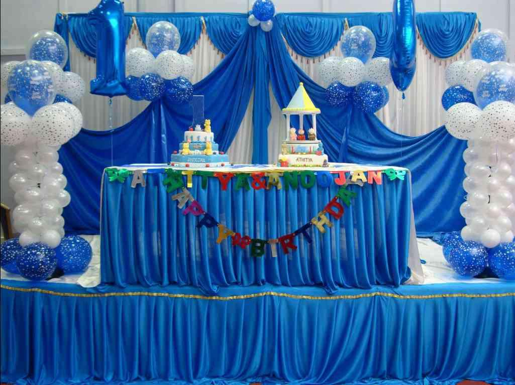 Ist Birthday Party Decorations