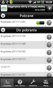 Krzyżówki (Crosswords)- screenshot thumbnail