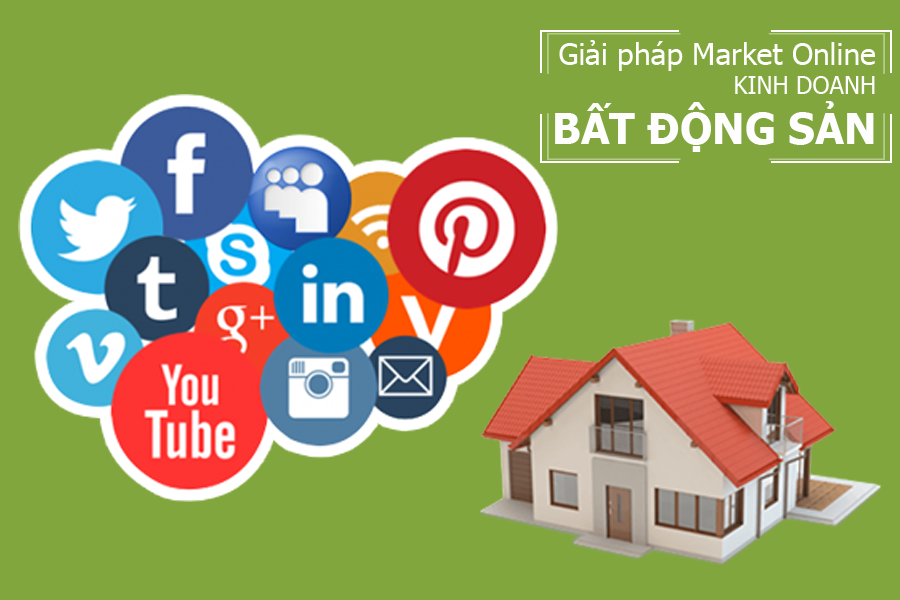 Giải pháp marketing online cho kinh doanh bất động sản