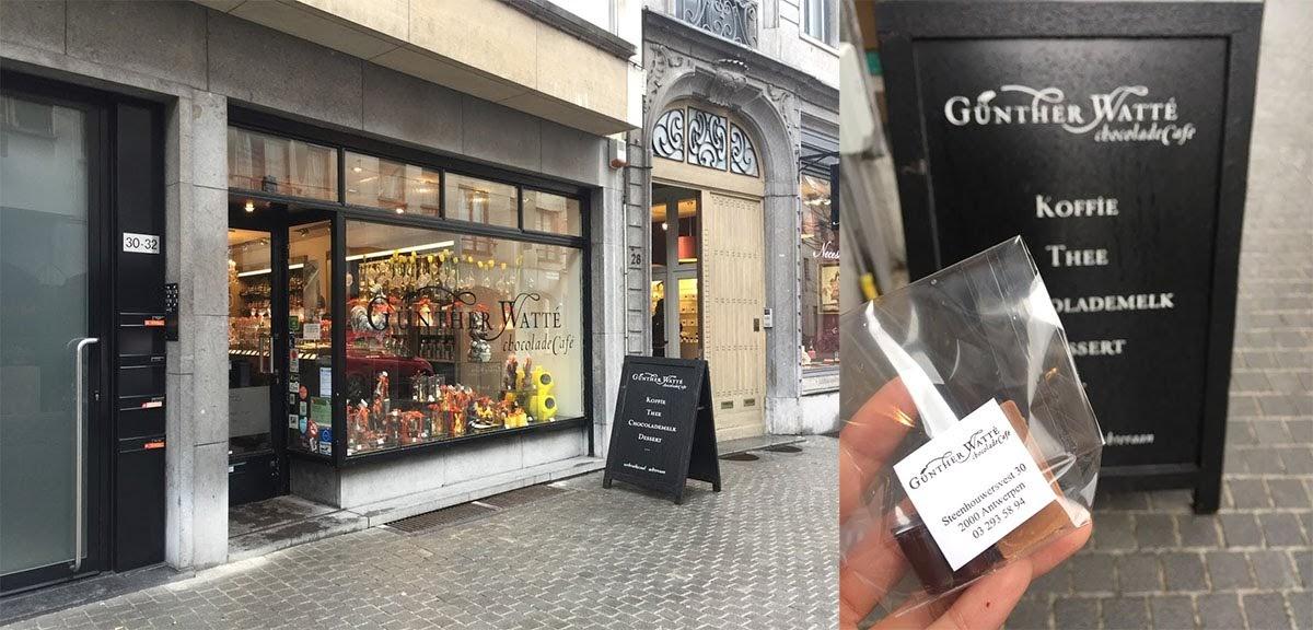 Antwerp Chocolate Week Gunther Watte