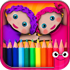 Coloring Games,Painting Book for Toddlers-EduPaint icon