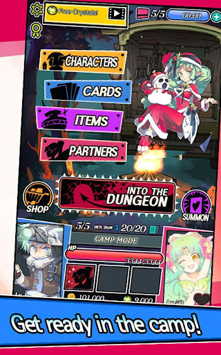 Dungeon & Girls: Card RPG