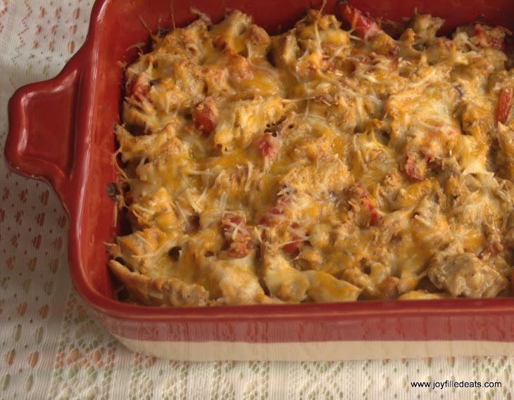 Fajita Chicken Casserole Recipe