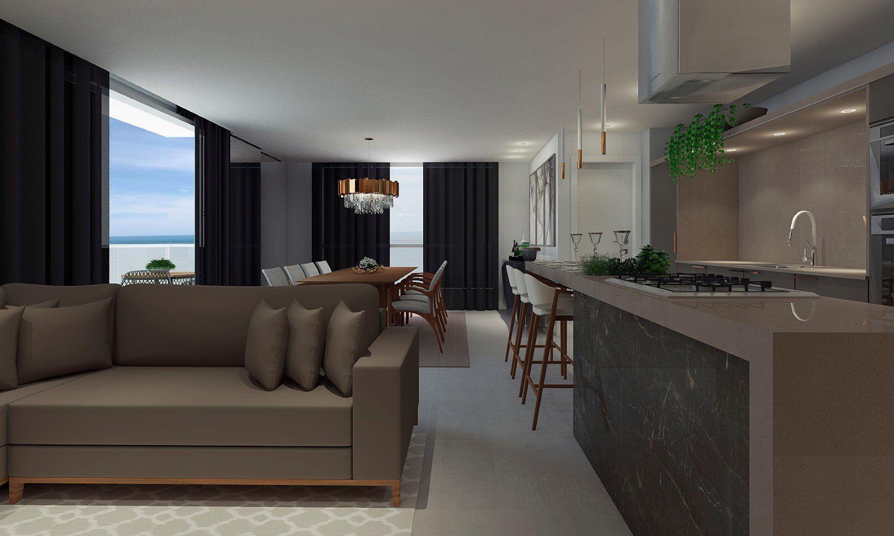Apartamento com 3 Dormitórios à venda, 173 m² por R$ 1.200.000,00