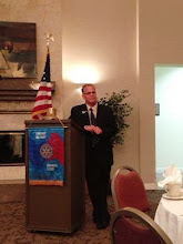 Photo: Wayne Zimmerman, 2013-2014 President of the Rotary Club of DeBary-Deltona-Orange City