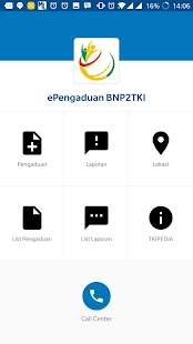 ePengaduan BNP2TKI - náhled