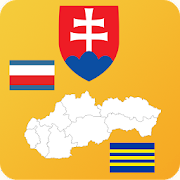 Slovakia State Maps and Flags, Info and Quiz