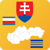 Slovakia State Maps and Flags