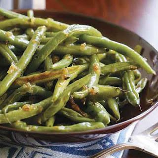 Basic Roasted Green Beans