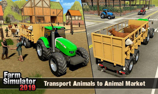 Real Tractor Driver Farm Simulator -Tractor Games 1.2 screenshots 23