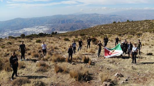 Berja se adentra en la Sierra de Gádor para conocer el paraje de 'La Retumba'