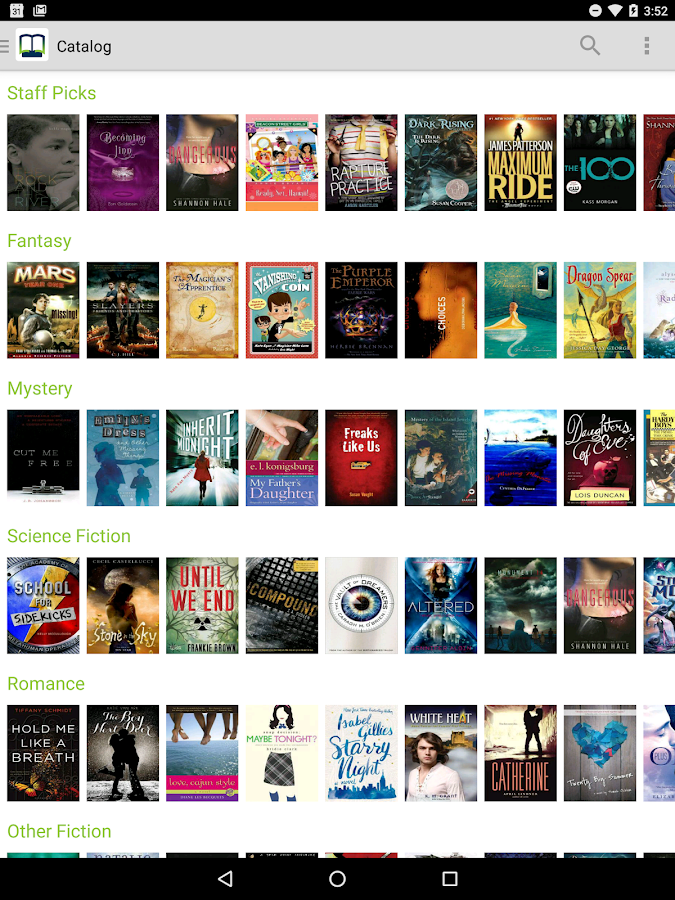 Open eBooks- screenshot