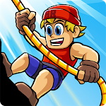 Radical Rappelling Icon