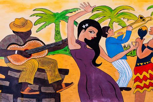 Cuban-Mural_03.jpg - A mural on a street in Cuba.