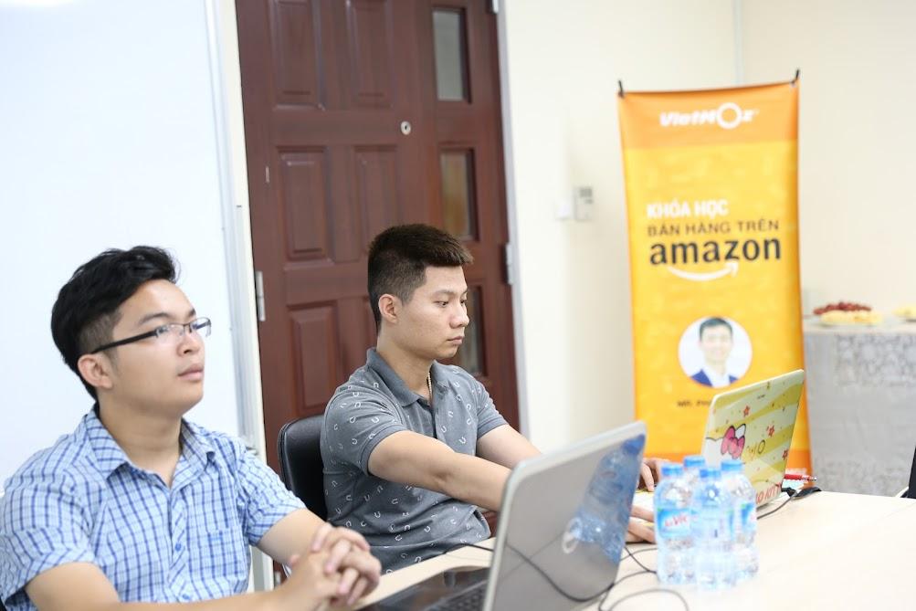 Hình ảnh khoá học bán hàng trên Amazon K16