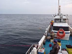 Photo: 真鯛の食いが落ちているとの「噂」だが・・・。 はりきっていこーっ!