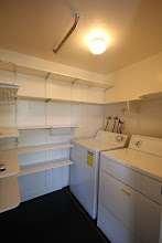 Photo: Off kitchen laundry room included.