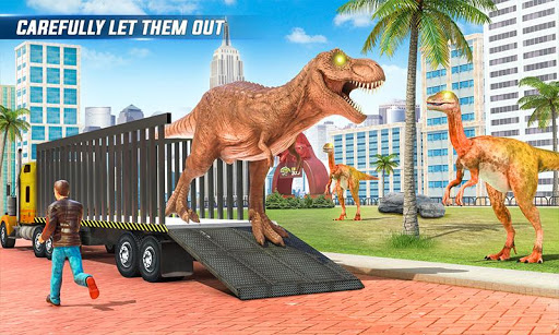 Angry Dino Zoo Transport: Animal Transport Truck 27 screenshots 3