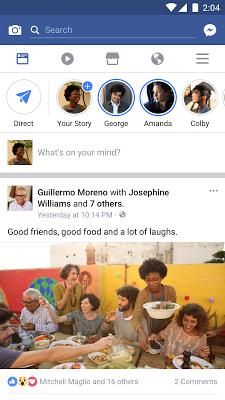 Facebook - screenshot