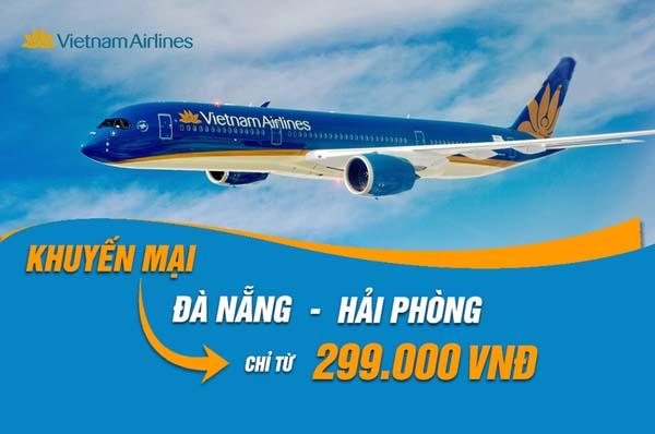 tnam Airlines khuyến mãi vé Đà Nẵng Hải Phòng